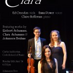 Claire's upcoming Masters performance, 16th June '14